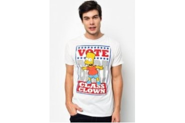 The Simpsons @ urban TEE Vote Bart Tee