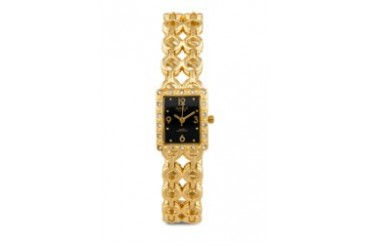 Omax JH0194G Alloy Gold Watch