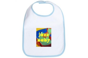 Jazz Baby Baby Bib by CafePress