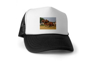The Going Get Tough Horse Trucker Hat by CafePress