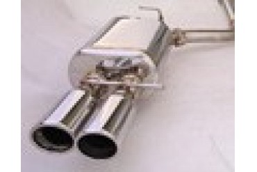 MXP Stainless Exhaust Audi A4S5 07-10