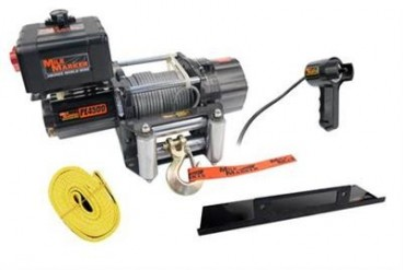 Mile Marker PE4500 Electric Winch 76-50115B 3,000 to 6,000 lbs. ATV Winches