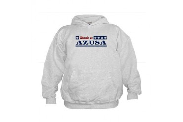 Made in Azusa California Kids Hoodie by CafePress
