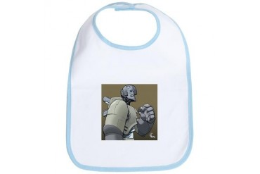 A Better Robot Space Bib by CafePress