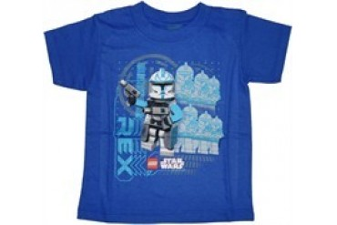 Lego Star Wars Clone Troopers CT-7567 Captain Rex Juvenile T-Shirt