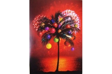 Magic Palms Seashellen Designs Boxed Christmas Holiday Cards