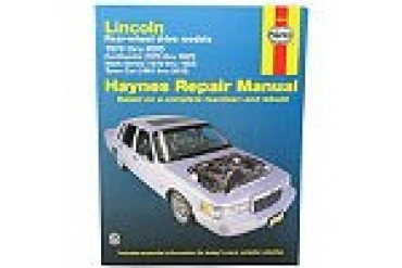 1988-1997 Lincoln Continental Manual Haynes Lincoln Manual 59010