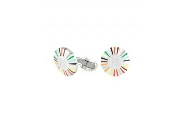 Signature Stripe Ray Men's Cufflinks