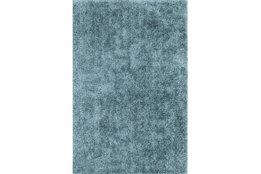 Dalyn Illusions Shag Flokati Blue Solid Area Rug