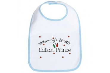 Mommy's Little Italian Prince Baby Cool Bib by CafePress