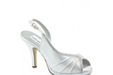 Dyeables Shoes - Style Flora White 31613