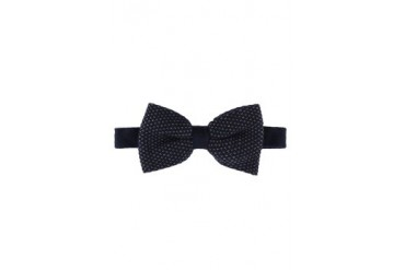 H.E. by Mango Wool Knit Bow Tie