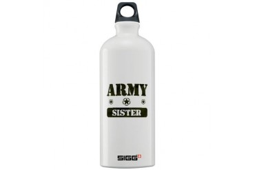 Army Sister Army Sigg Water Bottle 1.0L by CafePress