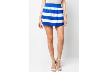 VnJ Marine Stripes Skirt