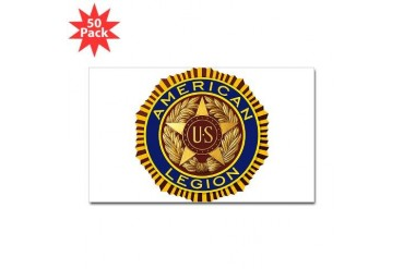 Legion American Sticker Rectangle 50 pk by CafePress