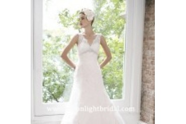 "Moonlight Couture ""In Stock"" Wedding Dress - Style H1211"