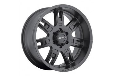 Mickey Thompson Sidebiter II, 15x8 with 5 on 4.5 Bolt Pattern - Satin Black 90000019380 Mickey Thompson Wheels