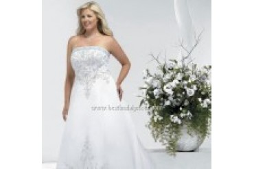 Private Label Signature Plus Wedding Dresses - Style 3333