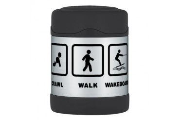 Wakeboarding Thermos Food Jar Funny Thermosreg; Food Jar by CafePress