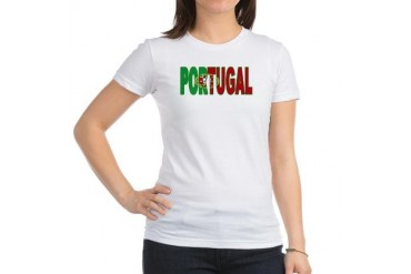 Portugal World Cup Soccer Flag Jr. Jersey T-Shi Soccer Jr. Jersey T-Shirt by CafePress
