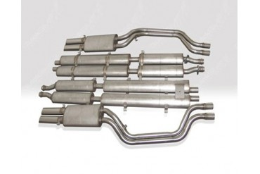 Quicksilver Heritage Stainless Steel Exhaust System Ferrari 412 85-89