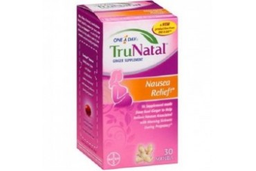 One a Day TruNatal Nausea Relief Ginger Supplement