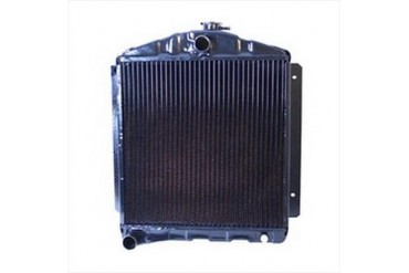 Omix-Ada Replacement 2 Core Radiator for 134 4 Cylinder Engine with Manual Transmission 17101.04 Radiator