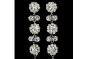 "Jim Ball ""In Stock"" Earrings - Style CE419-CS/AB"