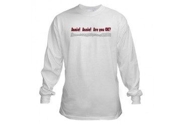 Annie Annie Funny Long Sleeve T-Shirt by CafePress