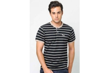 Lee Striped Henley T-shirt
