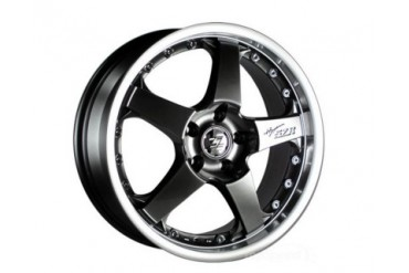 5Zigen Hyper Black 5ZR wheel Set 18x7.5 35mm 5x100 FRS, BRZ or GT-86