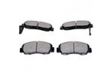 2000-2001 Acura Integra Brake Pad Set Akebono Acura Brake Pad Set ISD503