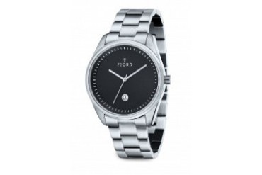 DAN 3-Hand Stainless Steel Watch