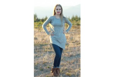 Asymmetrical Sweater Tunic - 3 Colors!