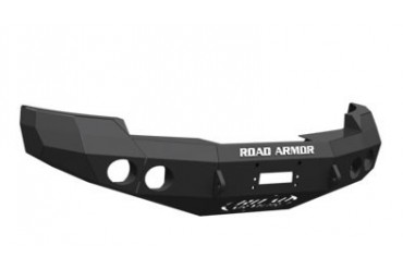 Road Armor Front Stealth Winch Bumper in Satin Black 33400B Front Bumpers