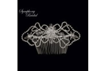 Symphony Bridal Hair Combs - Style CB1204