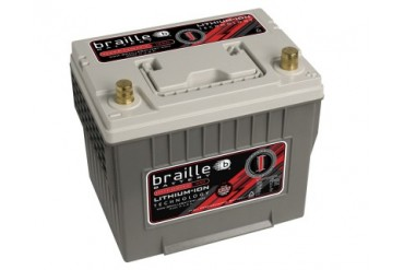 Braille Lithium Ion Intensity Deep Cycle Battery 1300 Amp 9 x 7 x 9 inch Right Positive BCI 35