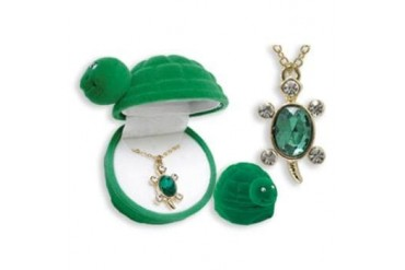 Ddi Turtle Animal Necklace In Turtle Box (pack Of 24)