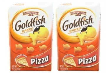 Pepperidge Farm Pizza Goldfish Baked Snack Crackers 2 Bag Pack