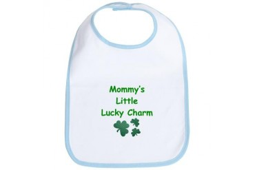 Mommy's Little Lucky Charm Bib