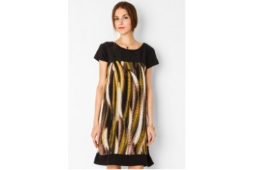 Urban Twist Abstract Mini Dress