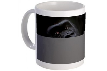 Gorilla Art Mug by CafePress