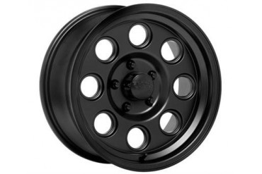 Black Rock Wheels Yuma  908B, 15x8 with 5 on 4.5 Bolt Pattern - Matte Black 908B581237 Black Rock Wheels