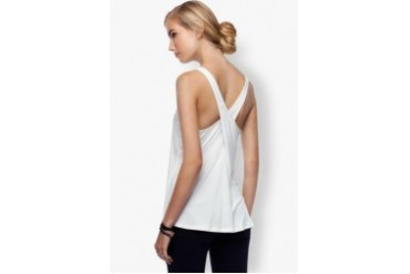 EZRA BASICS by ZALORA Cross-Back Tank