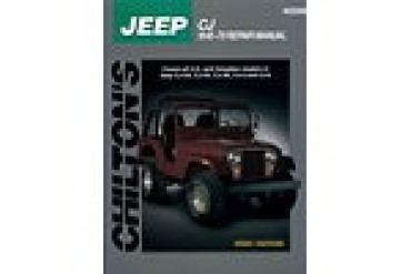 1959-1970 Jeep CJ5 Manual Chilton Jeep Manual 40200