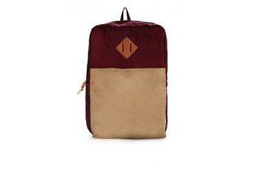 Tucked In Indiana Canvas Backpack