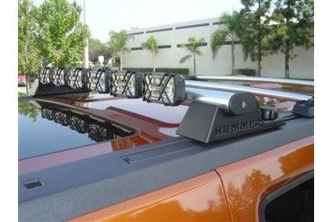 Delta Industries Delta 6X Roof Light Bar - 6 Light System for Hummer H3 01-9360-6X Offroad Racing, Fog & Driving Lights