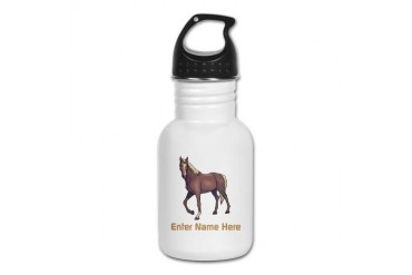 Personalized Horse Kid's Water Bottle