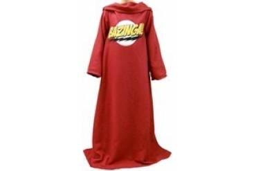 Big Bang Theory The Comfortability Cloak Sleeved Blanket Snuggler