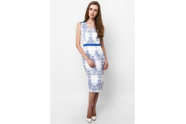 Wyle Vertebra Midi Dress
